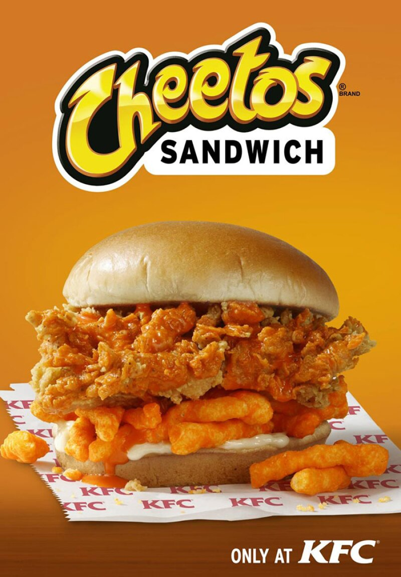 KFC y Cheetos