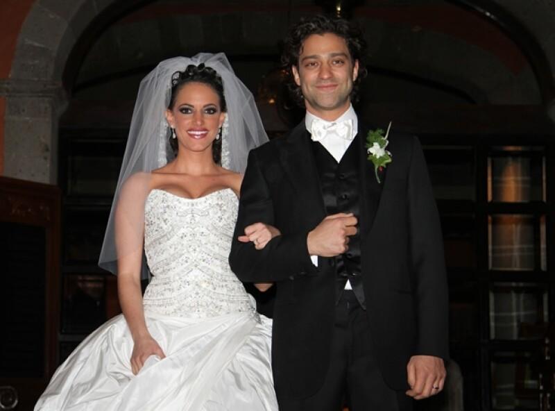 Arlett Kalach y Ari Borovoy se casaron en 2011.