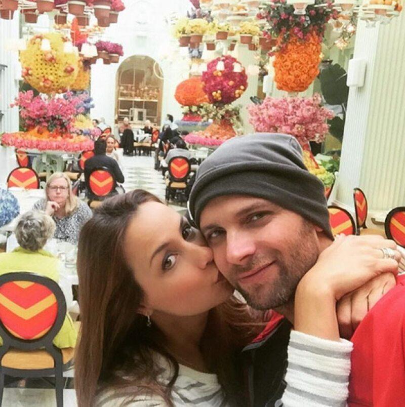 La pareja se dio una escapada a esta ciudad para disfrutar de unas vacaciones, antes de convertirse en padres por primera vez con la llegada de su hija Gía.