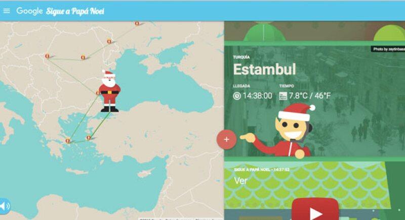Sigue el minuto a minuto del recorrido de Santa en Navidad en todo el mundo.