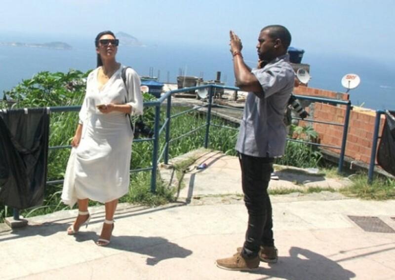La pareja fue vista desde el fin de semana disfrutando de la ciudad brasileña.