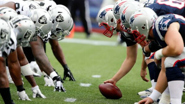Pats vs Raiders