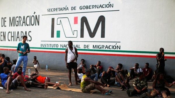 Estación Migratoria en Chiapas.