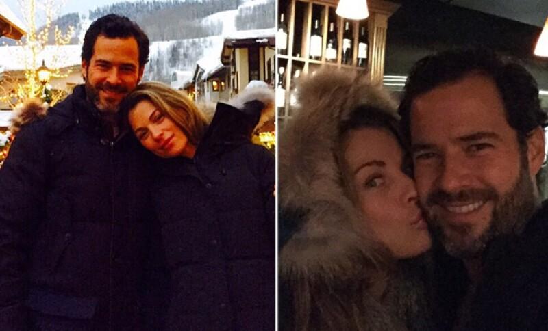 Aunque en el pasado Ludwika Paleta se mostraba reservada con su vida privada, en su Instagram ha publicado las más románticas fotos con su esposo Emiliano Salinas.