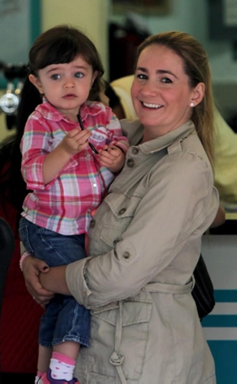 La conductora de televisión destacó que muchas personas siempre le dijeron que tener un hijo era lo mejor pero que ella lo entendió hasta que tuvo a su pequeña.