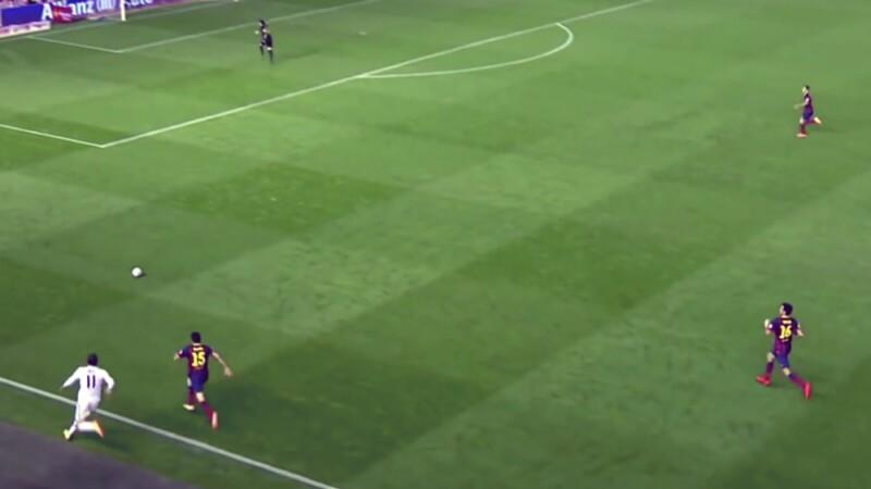 El gol con el que Gareth Bale humilló a Barcelona en la Copa ...