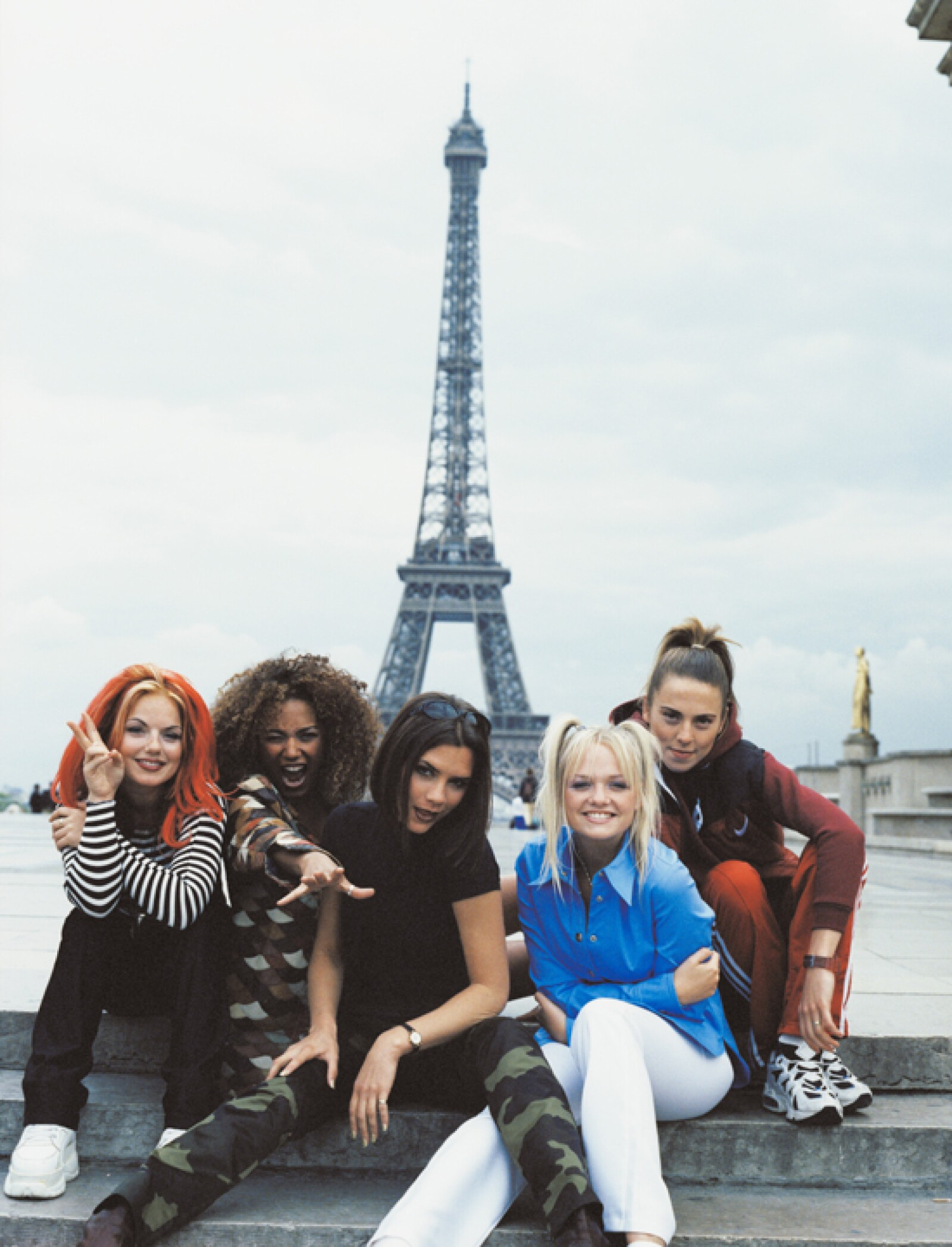 Ese mismo año comenzó la fama de Spice Girls de la que ya era parte.