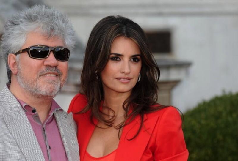 La atracción que sintió Pedro Almodóvar por Penélope Cruz fue muy intensa.