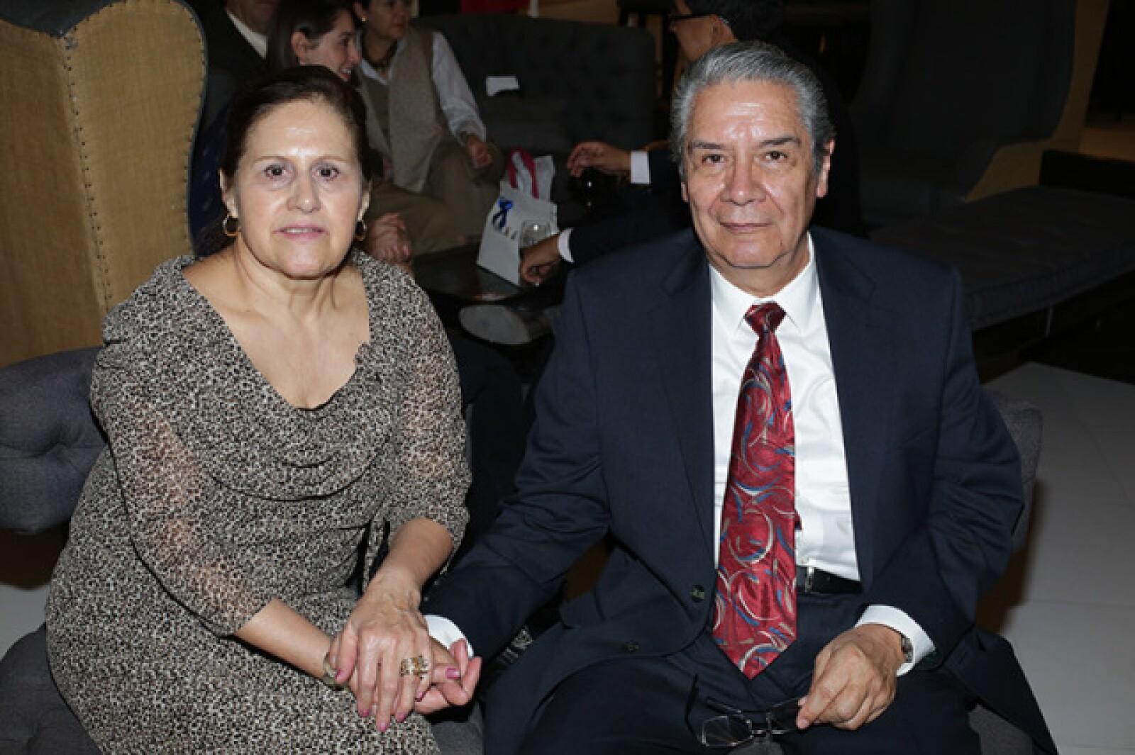 Eliza Alvarado y Marco Antonio Pozos