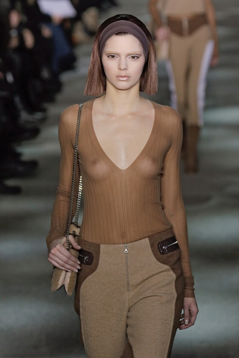 Kendall debutó en el runway del diseñador Marc Jacobs en febrero del año pasado en el Mercedes-Benz Fashion Week.