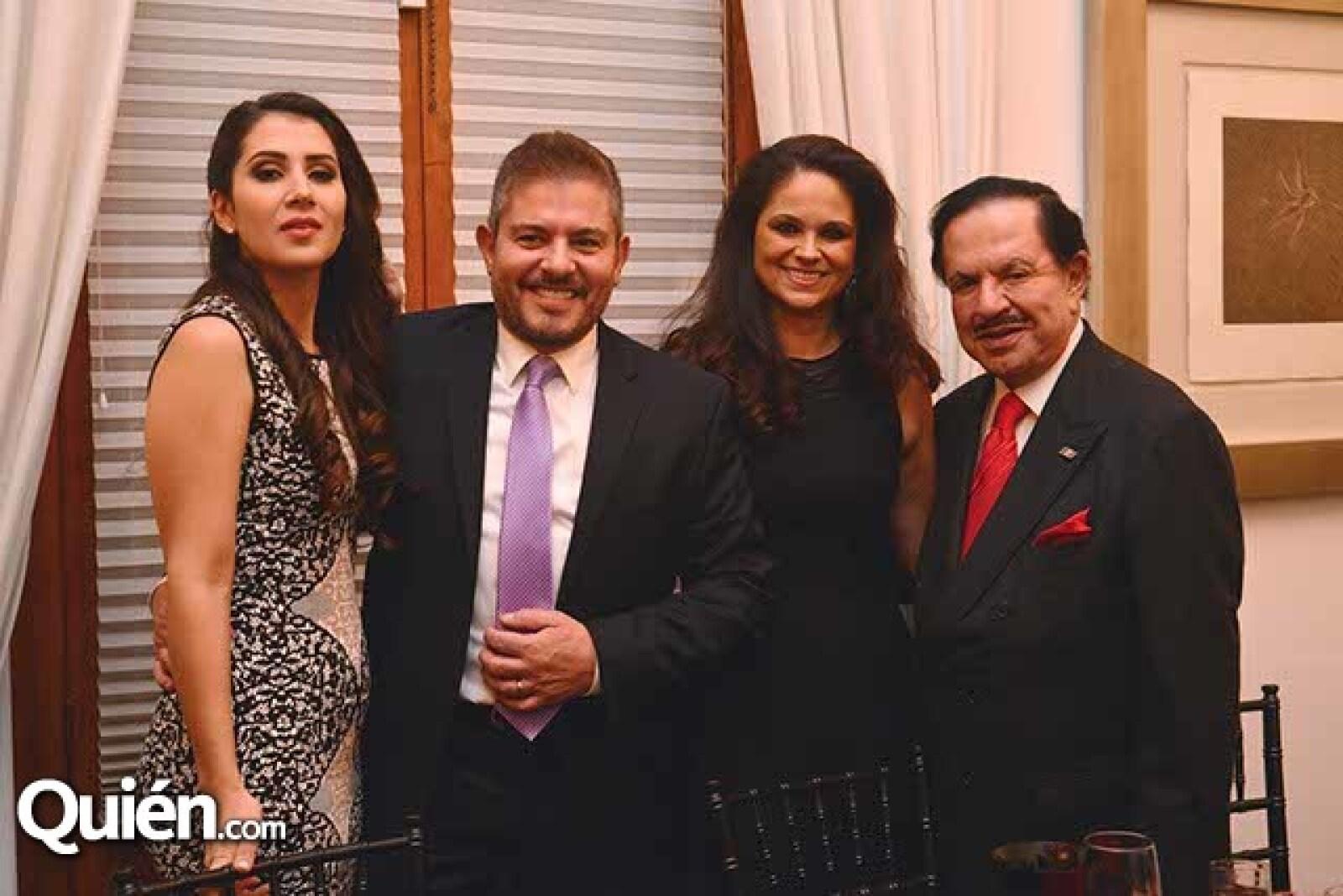 Patricia de Laguardia,Ernesto Laguardia,Perla de Ealy y Juan Francisco Ealy Ortiz.