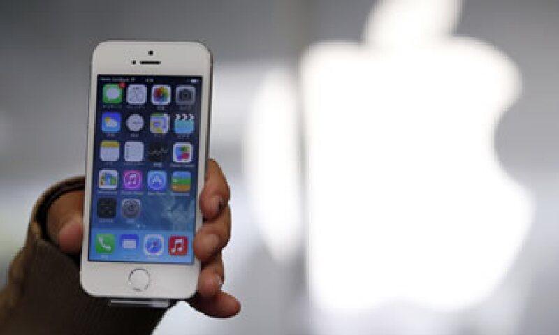 El máximo de Apple era del 18 de septiembre de 2012. (Foto: Reuters)