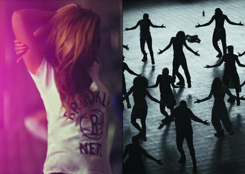 La famosa cantante publicó en su cuenta de Instagram algunas fotos misteriosas en las que podría estar ensayando para su show del próximo fin de semana.