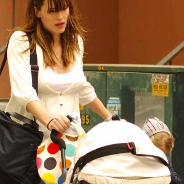 Jennifer Garner repitió este año como mamá, ya tenía a su hija Violet y en enero llegó la segunda, otra niña a quien llamó Seraphina.