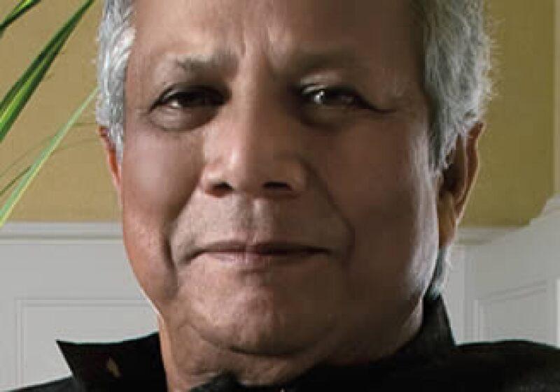 Muhammad Yunus, fundador de Grameen Bank, institución dedicada a los microcréditos.  (Foto: Ramón Sánchez Belmont)
