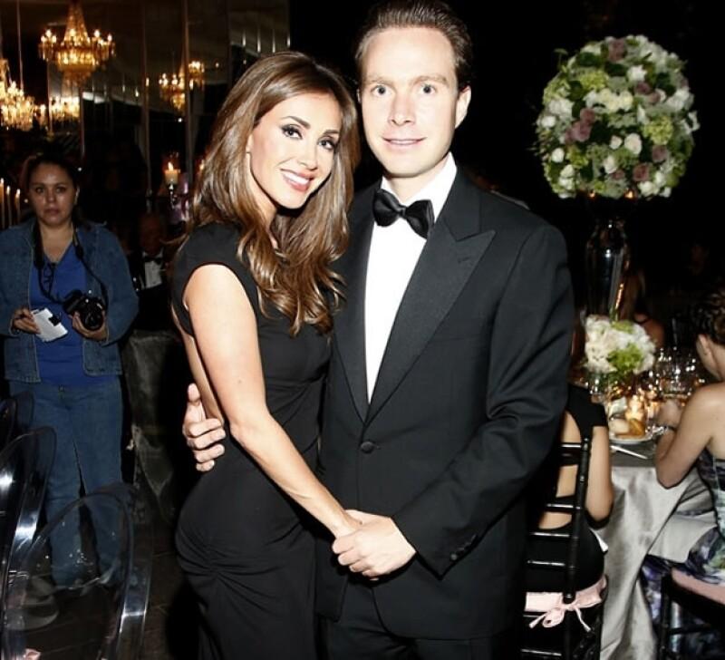 La ahora esposa de Manuel Velasco reveló sus intenciones de convertirse en mamá el próximo año.