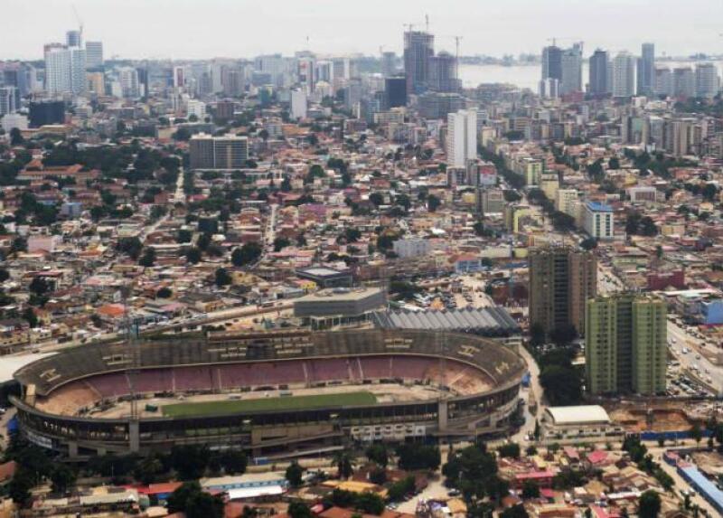 Obras en Brasil