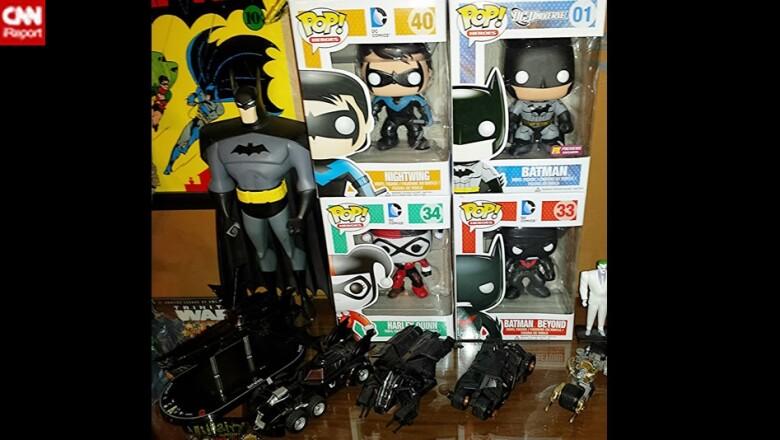 El coleccionista Robin Cross considera a Batman la ?regla de medir con la que se puede comparar a otros personajes?