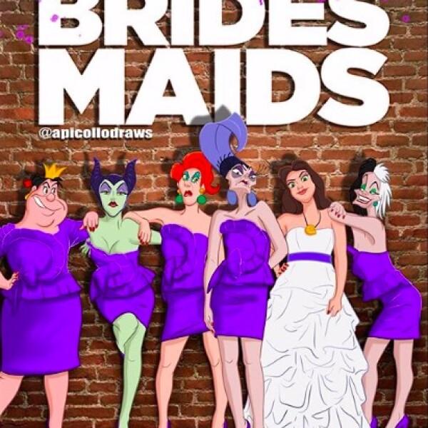 peliculas-princesas-disney-poster-bridesmaids