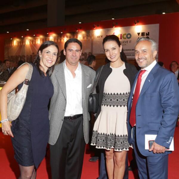 Ana Fuentes, Jaime López, Alejandra Barros y Nicolás Vale