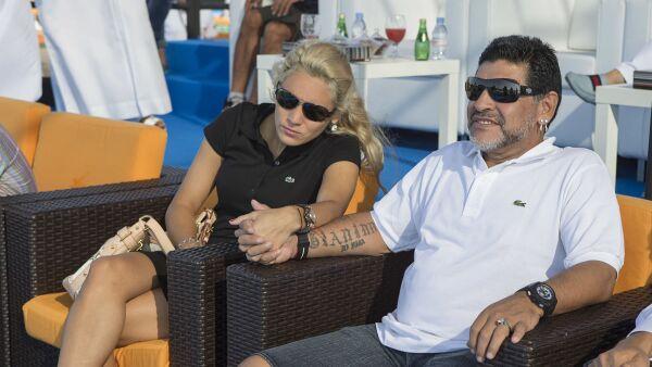 Maradona matrimonio Rocío Oliva