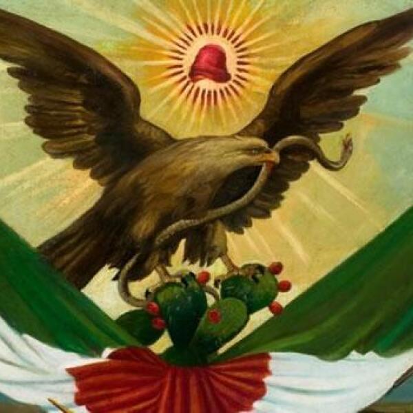 pintura alegoría patria