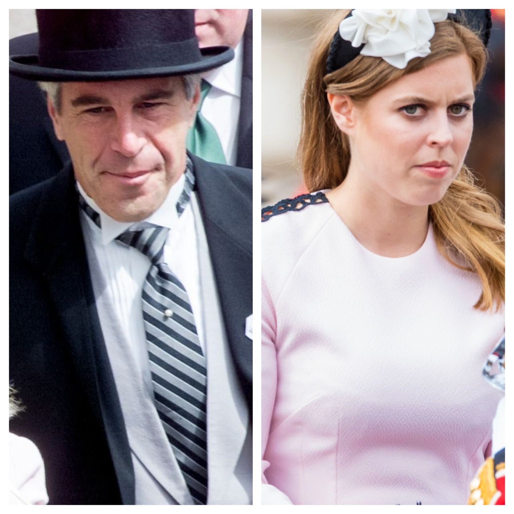 Jeffrey Epstein y la princesa Beatriz