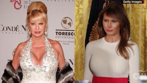 Así es el pleito entre las Trump: primera esposa vs primera dama