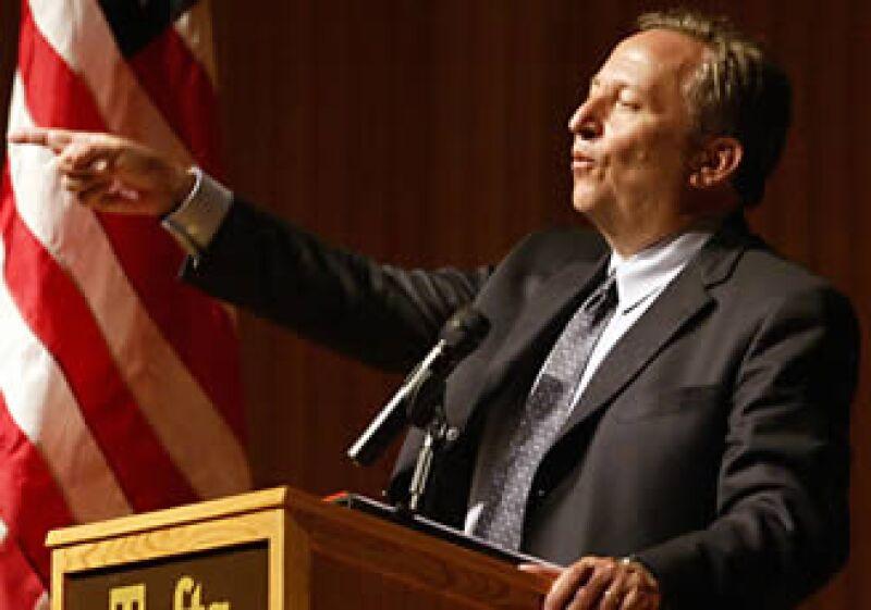Lawrence Summers es el principal asesor económico de Barack Obama. (Foto: Archivo AP)