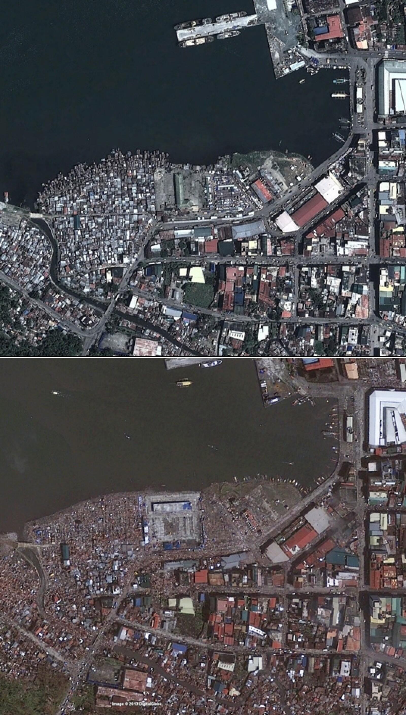tacloban, satelite