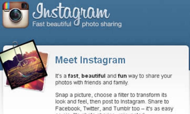 Con su función de mensajes directos Instagram busca competir con 'apps' como Snapchat o WeChat. (Foto: Archivo)