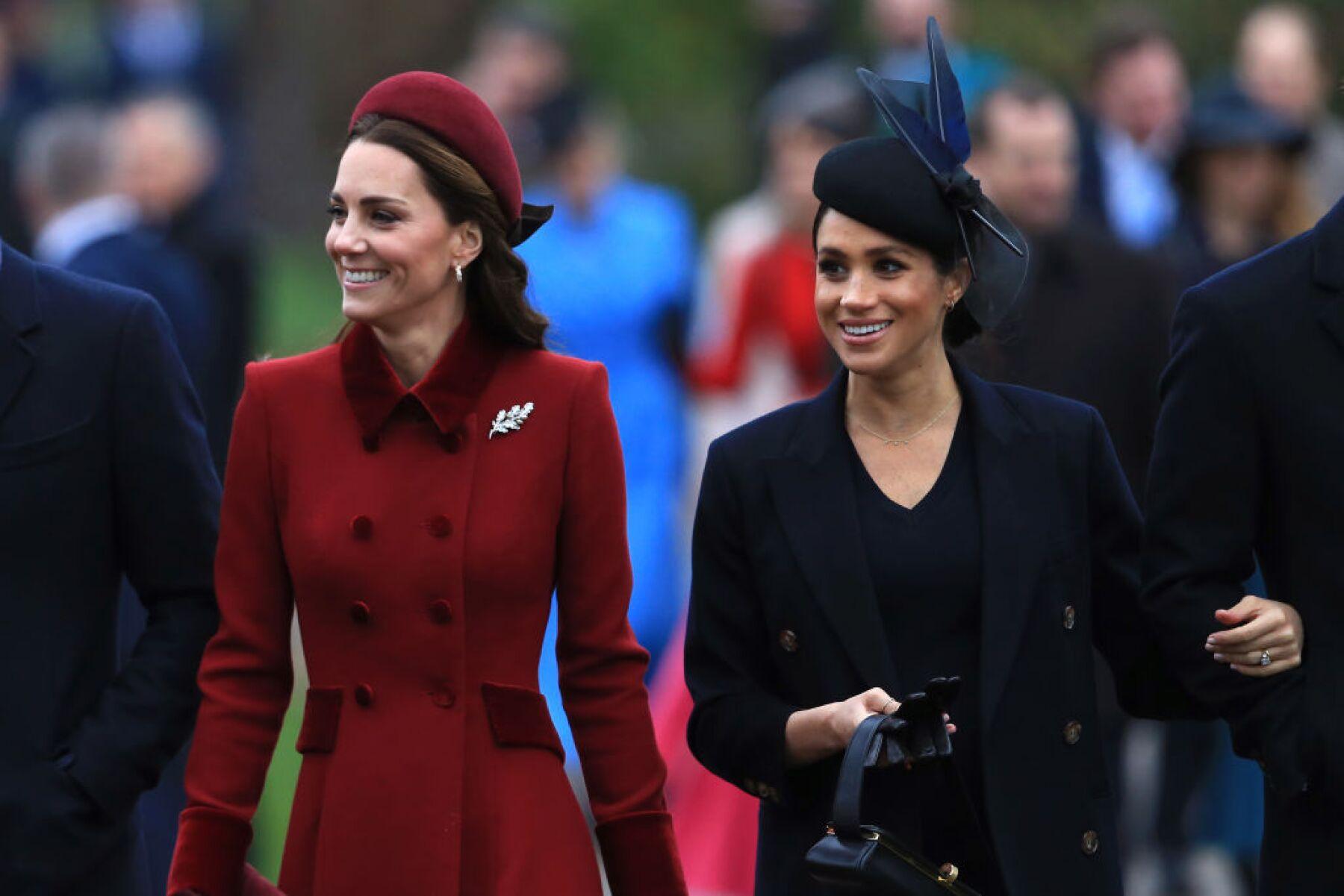 Meghan y Kate