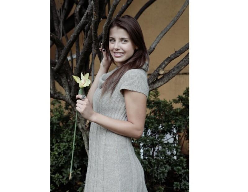 La guapa actriz tuvo que sorprender con una caracterización a Mapat para conseguir el papel de Conny.