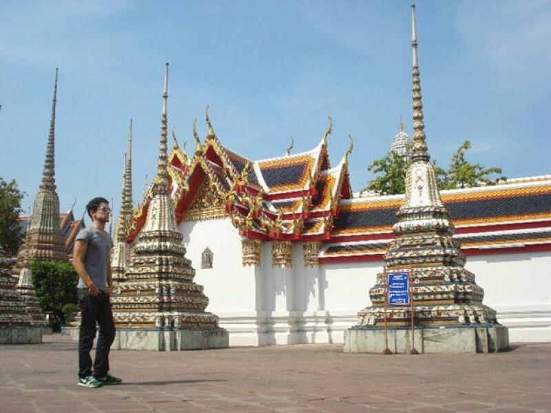 Luis Gerardo en Cambodia, un país que le ha cambiado la visión de su vida.