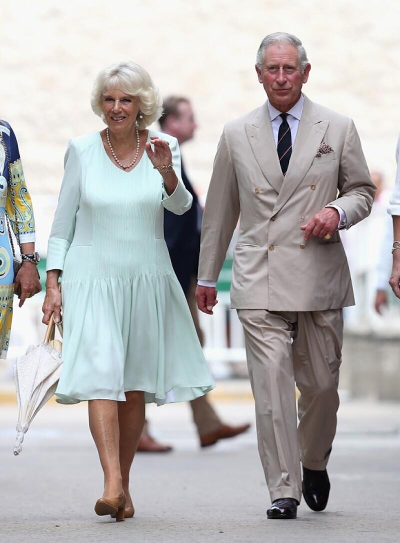 El día de hoy inicia la visita del heredero a la corona británica y su esposa, la duquesa de Cornwall a México.