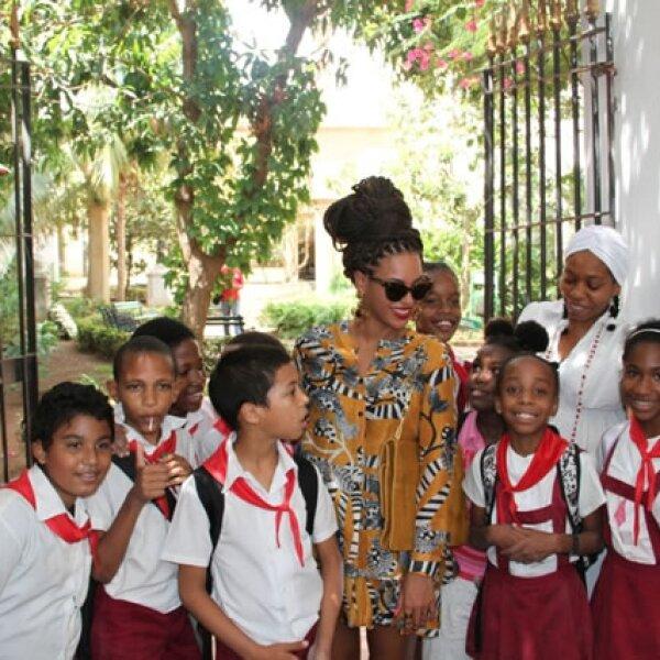 El cinco de abril de este año, se supo que Beyoncé y Jay Z habían viajado a Cuba para celebrar su quinto aniversario de boda.