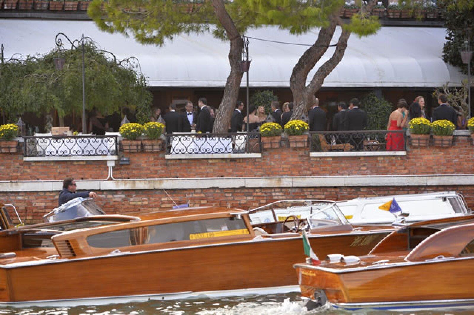 Boda de George Clooney en Venecia.