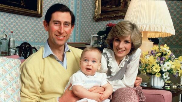 Príncipe Carlos, Lady Di y el príncipe William
