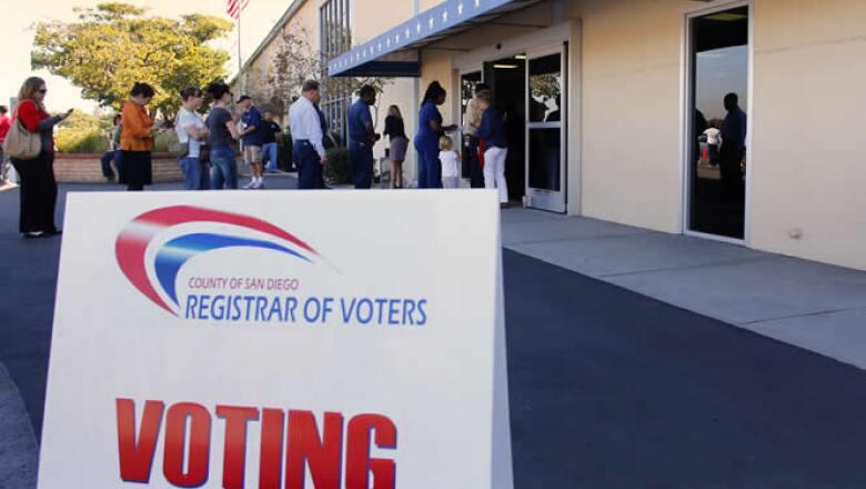 La decisión de los votantes marcará el rumbo del país en los próximos cuatro años en temas como el  gasto y los impuestos.