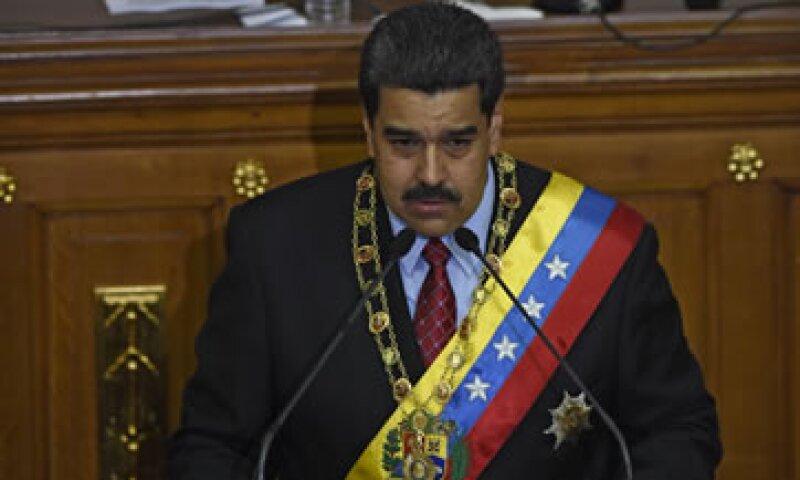 El presidente venezolano dijo ante el Parlamento que su gobierno cumplirá con sus compromisos de deuda externa. (Foto: AFP )