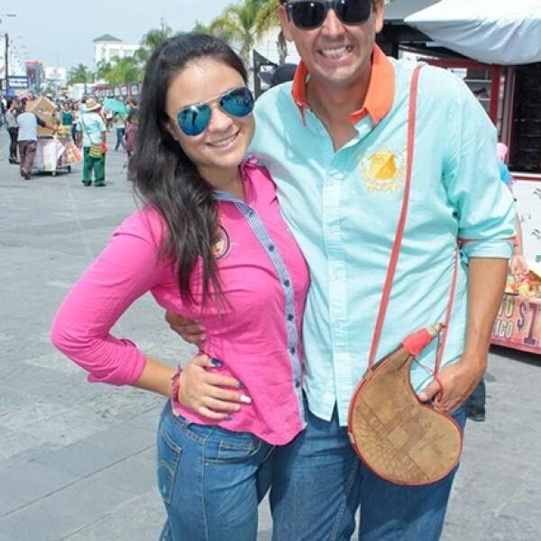 Sofía Soriano y Christian Sánchez