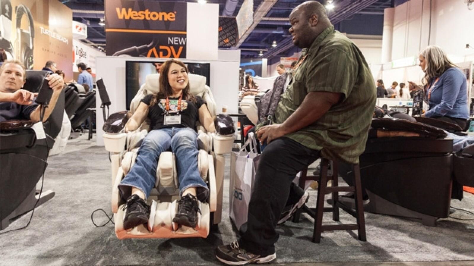 Feria de Tecnología en Las Vegas