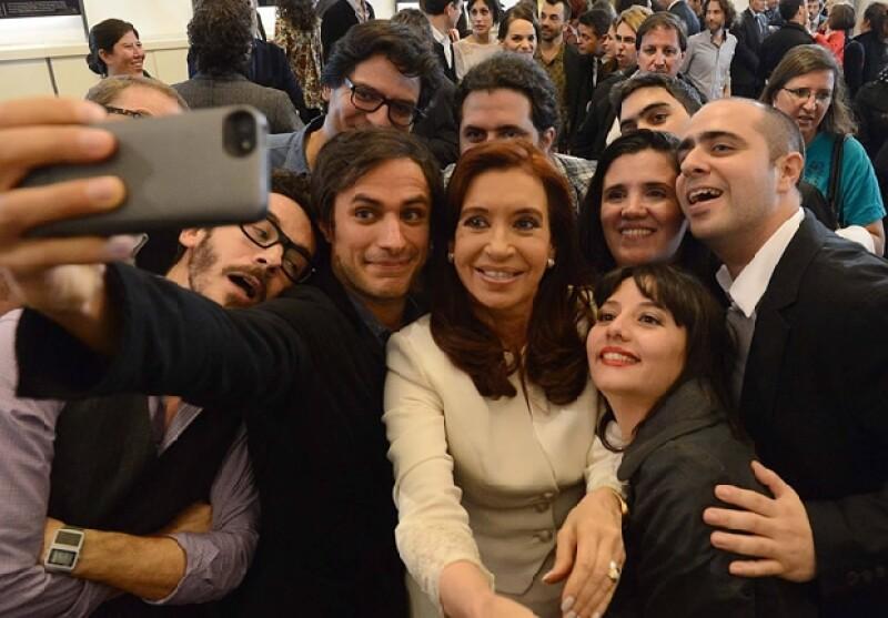 El actor visitó la Casa de Gobierno en Buenos Aires con motivo de la participación de Argentina en el próximo Festival de Cine en Cannes, en donde será jurado.