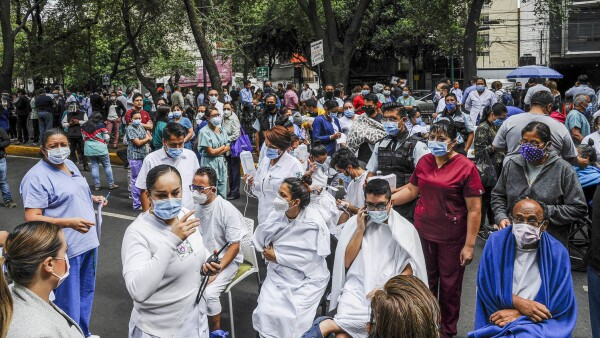 MEXICO-QUAKE-HEALTH-VIRUS