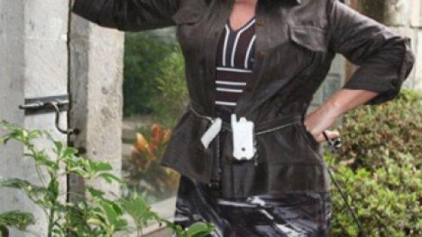 Es Onelia en Cuidado con el ángel de Televisa.