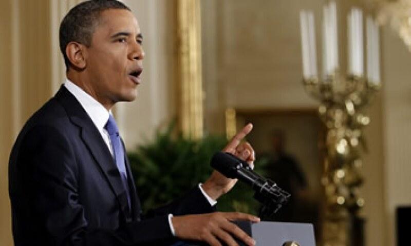 """""""Esto no es un juego. No es el momento para el usual estancamiento político"""", pidió Obama. (Foto: Reuters)"""