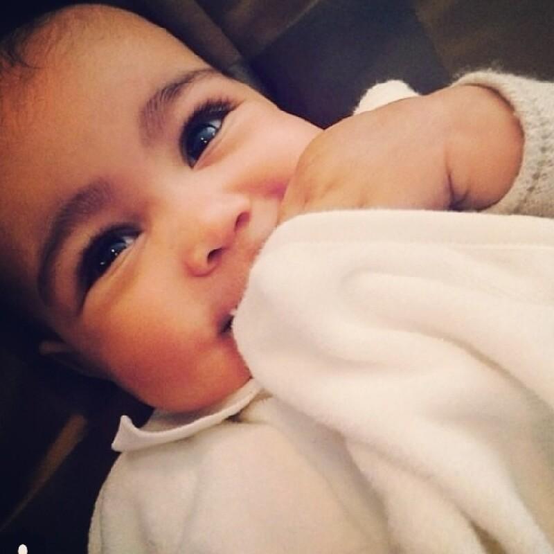 North West es la más pequeña nieta de Kris Jenner.