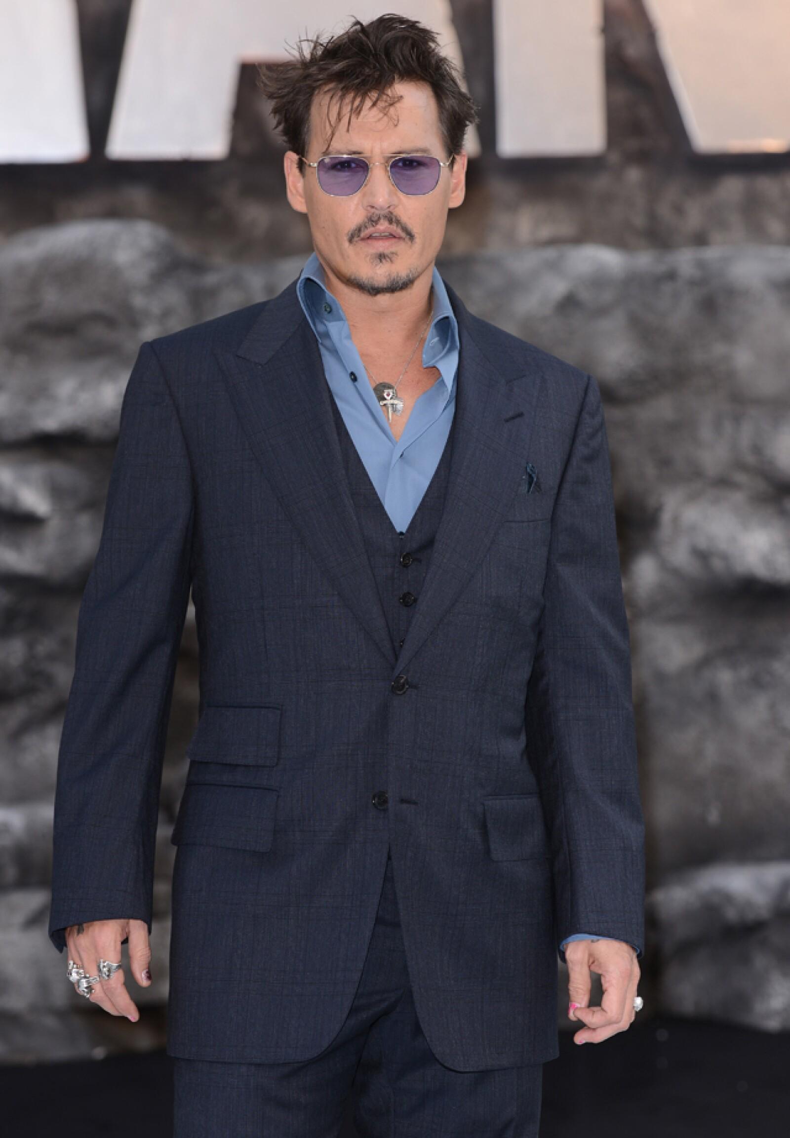Johnny Depp, 51 años.