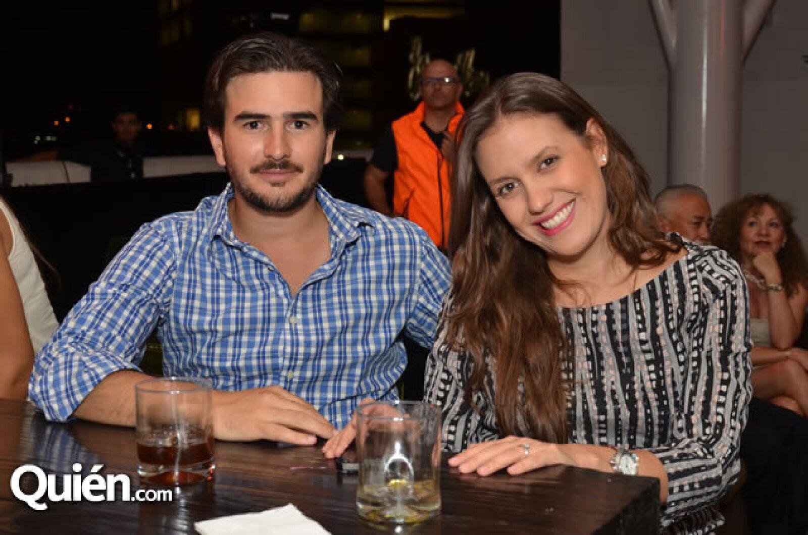 Cristopher Montes y Sofía Álvarez