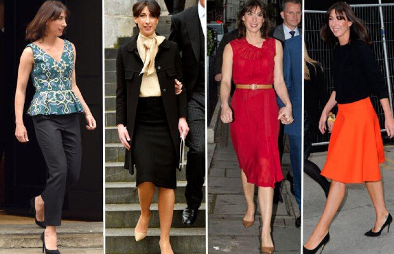 Los vestidos y las faldas son característicos de su femenino y elegante estilo.